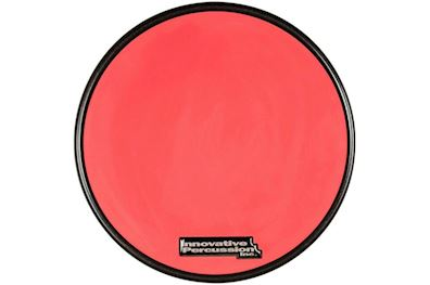 INNOVATIVE PERCUSSION - RP-1R RED GUM RUBBER OEFENPAD MET RAND 11,5""