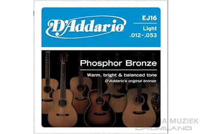 DADDARIO - EJ-16 PHOSPHOR BRONZE SNARENSET LIGHT AKOESTISCH