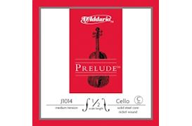 DADDARIO - PRELUDE CELLO STRING C-4 1/2, MEDIUM, STEEL, COMPOUND WOUND