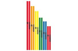 BOOMWHACKERS - BW-6SET 6 DELIGE PENTATONISCHE SET