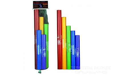 BOOMWHACKERS - BW-5SET BOOMWHACKERS 5 DELIGE CHROMATISCHE SET