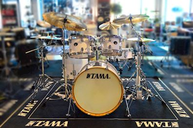 TAMA - drumstel vp50rs-pwh silverstar 5pc shell kit piano white