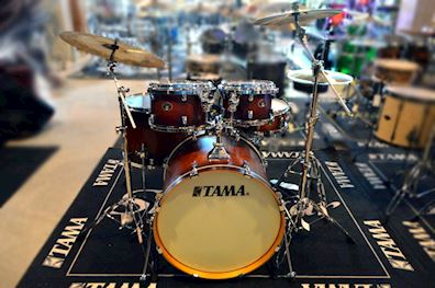 TAMA - vp52rs-abr silverstar 5pc shell kit antique brown burst