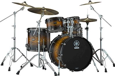 YAMAHA - DRUMSTEL LIVE CUSTOM HYBRID OAK ROCK UZU EARTH SUNBURST