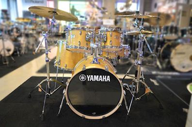 YAMAHA - DRUMSTEL STAGE CUSTOM SBP0F5NW NATURAL WOOD + HW780