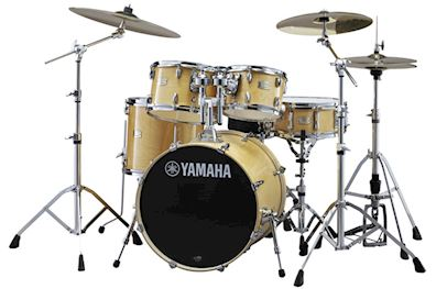 YAMAHA - SBP2F5NW7 STAGE CUSTOM DRUMSTEL NATURAL WOOD W/ HARDWARE