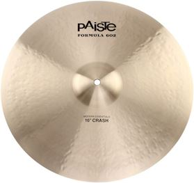"PAISTE - FORMULA 602 MODERN ESSENTIALS 16"" CRASH CYMBAL"