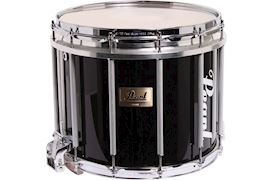 PEARL - CMSX1412/C046 COMPETITOR MARCHING SNAREDRUM MIDNIGHT BLACK