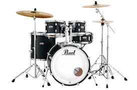 PEARL - DMP925SC227 DECADE MAPLE DRUMSTEL SATIN SLATE BLACK INCL. HW