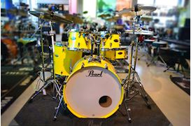 PEARL - DMP925SC228 DECADE MAPLE DRUMSTEL SOLID YELLOW INCL. HW