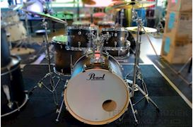 PEARL - DMP925SC262 DECADE MAPLE DRUMSTEL SATIN BLACK BURST INCL HW