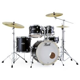 PEARL - EXX705NBRC761 EXPORT DRUMSTEL SATIN SHADOW BLACK