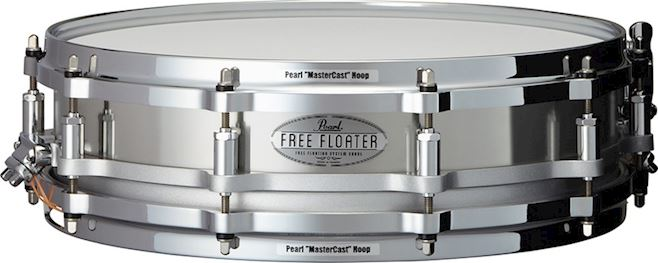 PEARL - FTSS1435 TASK-SPECIFIC FREE FLOATING SNARE DRUM 14X3.5 STAIN