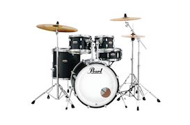 PEARL - DMP905C227 DECADE MAPLE DRUMSTEL SATIN SLATE BLACK INCL HW