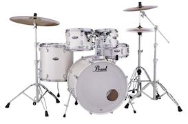 PEARL - DMP905C229 DECADE MAPLE DRUMSTEL WHITE SATIN PEARL INCL HW
