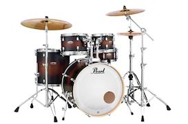 PEARL - DMP905C260 DECADE MAPLE DRUMSTEL SATIN BROWN BURST INCL HW