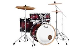 PEARL - DMP905C261 DECADE MAPLE DRUMSTEL DEEP RED BURST INCL HW