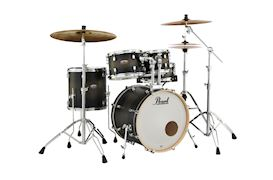 PEARL - DMP905C262 DECADE MAPLE DRUMSTEL SATIN BLACK BURST INCL HW
