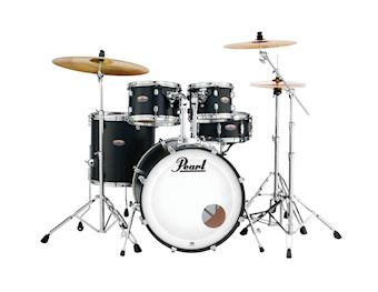 PEARL - DMP925SC227 DECADE MAPLE DRUMSTEL SATIN SLATE BLACK INCL HW