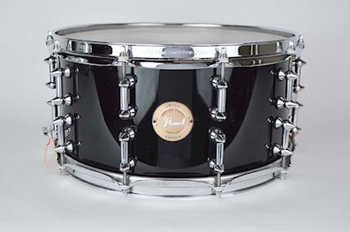 "PEARL - LIMITED EDITION MAPLE SNARE 14"" X 7"" PIANO BLACK"