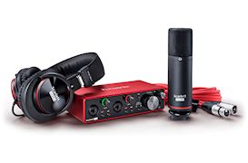 FOCUSRITE - SCARLETT 2I2 STUDIO G3 USB AUDIO INTERFACE