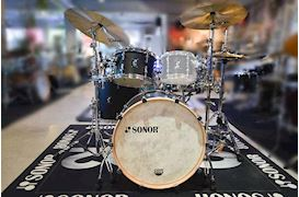 SONOR - DRUMSTEL SQ1 3-DELIGE SHELLSET 22/12/16 320 SET NM GTB