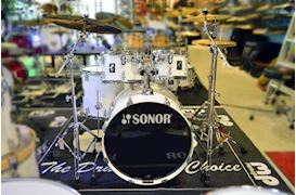 SONOR - DRUMSTEL AQ1 STUDIO SET PIANO WHITE (PW)