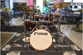 SONOR - DRUMSTEL AQ2 STUDIO SET BROWN FADE (BRF) SHELLSET