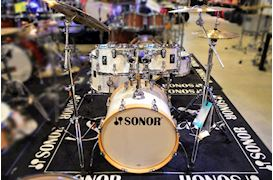 SONOR - DRUMSTEL AQ2 STUDIO SET WHITE PEARL (WMP) SHELLSET