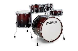 SONOR - DRUMSTEL AQ2 STAGE SET BROWN FADE (BRF) SHELLSET