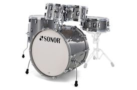 SONOR - DRUMSTEL AQ2 STAGE SET TITANIUM QUARTZ (TQZ) SHELLSET