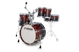 SONOR - DRUMSTEL AQ2 BOP SET BROWN FADE (BRF) SHELLSET