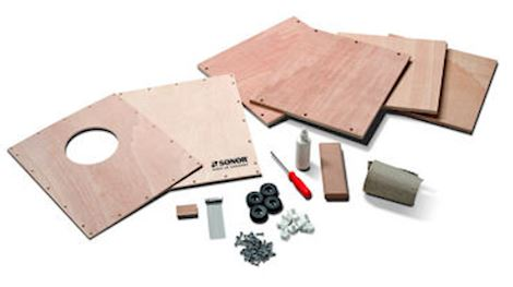 SONOR - CAJS DIY K CAJON KIDS; DO IT YOURSELF KIT FOR CHILDREN