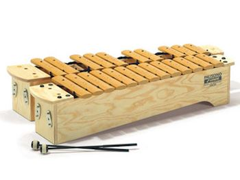 SONOR - SKX300 PALISONO XYLOPHONES  SOPRANO C-MAJOR 23 BARS