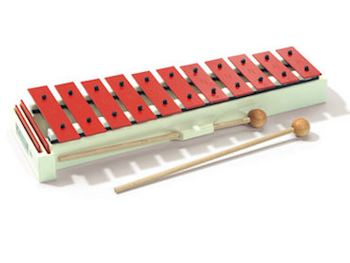 SONOR - SG GLOCKENSPIELS SOPRANO C3-F4 RED STEEL 13 BARS