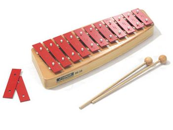 SONOR - NG10 GLOCKENSPIELS SOPRAAN C3-F4 C-MAJOR 13 BARS