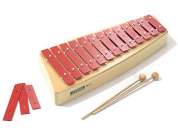 SONOR - NG11 GLOCKENSPIELS ALTO C2-A3 C-MAJOR 16 BARS