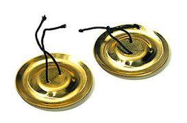 SONOR - GFC2 FINGER CYMBALS  MESSING 2 PAAR