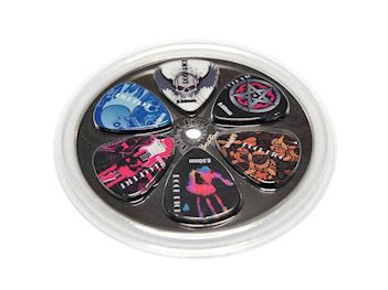 BOSTON - BRP6-060 GITAAR PICKS SET (6) 0.60 MM