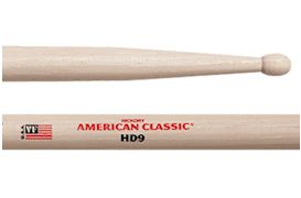 VIC FIRTH - HD9 AMERICAN CLASSIC (SD9 IN HICKORY)