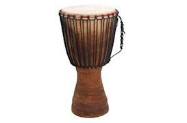 TERRE PERCUSSION - PROFESSIONAL DJEMBE IVORYCOAST 65CM