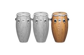 MEINL - WC1212ZFA-M TUMBA WOODCRAFT 12,5'' ZEBRA FINISHED ASH