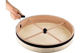 SCHLAGWERK PERCUSSION - RTS51 FRAME DRUM Ø 50 CM/20'' WITH WOODEN CROSS