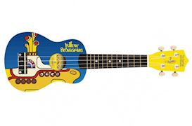 THE BEATLES - YSUK01 YELLOW SUBMARINE UKULELE BLUE