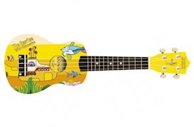 THE BEATLES - YSUK02 YELLOW SUBMARINE UKULELE YELLOW