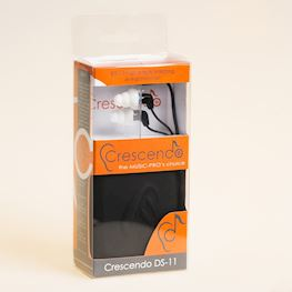 CRESCENDO - PR-0505 OORDOPPEN DS-11 IN-EAR HEADPHONES MET INLINE MIC.