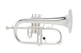 COURTOIS - AC154 FLUGELHORN BUGEL PROFESSIONAL MODEL SILVERPLATED