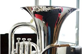 BESSON - BE967-2-0 EUPHONIUM SOVEREIGN VERZILVERD