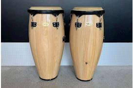 "LATIN PERCUSSION - OCCASION COSMIC PERCUSSION CONGASET 10"" & 11"" NATURAL"