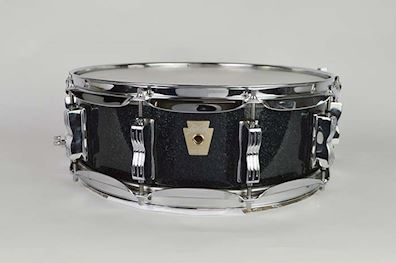 LUDWIG - CLASSIC MAPLE 14 X 5,5 BLACK SPARKLE OCCASION
